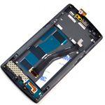 Display LCD Komplett Einheit mit Rahmen für ONEPLUS One 1+ A0001 Schwarz Bild 2