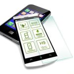 Premium 0,4 mm Hartglas Schock Folie für Huawei MediaPad M2 10.0