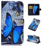 Schutzhülle Wallet Muster 83 für Samsung Galaxy S7 G930 G930F