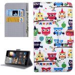 Tasche Wallet Premium Muster 53 für Huawei P9 Lite Hülle Case Cover Etui