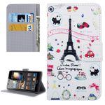 Tasche Wallet Premium Muster 55 für Huawei P9 Lite Hülle Case Cover Etui