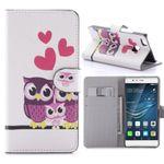Tasche Wallet Premium Muster 58 für Huawei P9 Lite Hülle Case Cover Etui