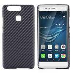 Hardcase Carbon-Optik Schwarz Hülle für Huawei P9 Tasche Cover Schutz