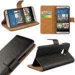 Tasche Wallet Premium Schwarz für Huawei Honor 8