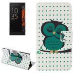 Tasche Wallet Premium Muster 15 für Sony Xperia XZ F8331 Bookcover Hülle Case
