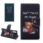 Tasche Wallet Premium Muster 23 für Sony Xperia XZ F8331 Bookcover Hülle Case