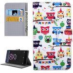 Tasche Wallet Premium Muster 15 für Sony Xperia X 5 Zoll F5121 Bookcover Hülle Case