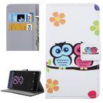 Tasche Wallet Premium Muster 17 für Sony Xperia X 5 Zoll F5121 Bookcover Hülle Case