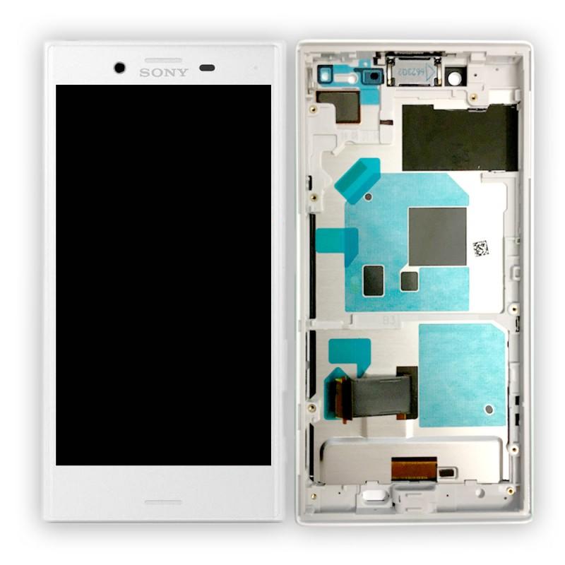 sony display lcd komplett mit rahmen f r xperia x compact. Black Bedroom Furniture Sets. Home Design Ideas