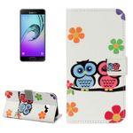 Schutzhülle Wallet Muster 22 für Samsung Galaxy A3 A320F 2017