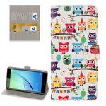 Tasche Wallet Premium Muster 78 für Huawei Nova Hülle Case Cover Etui