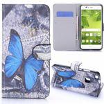 Tasche Wallet Premium Muster 26 für Huawei P10 Lite Hülle Case Cover Etui