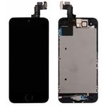 All in One Display LCD Komplett Ersatz Einheit Touch Panel für Apple iPhone 5S + Homebutton Schwarz