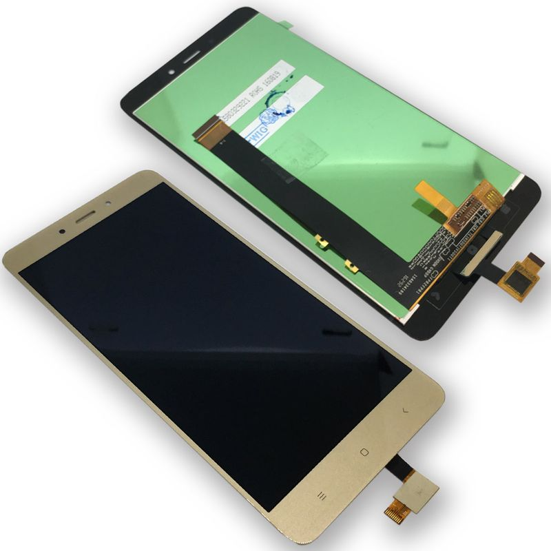 f r xiaomi redmi note 4 reparatur display full lcd komplett einheit touch gold ebay. Black Bedroom Furniture Sets. Home Design Ideas
