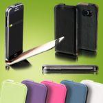 Fliptasche Deluxe Schwarz für Huawei P10 Plus Hülle Case Cover Schutz Zubehör Etui Neu