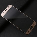 Premium 0,3 mm gebogenes Panzerglas Gold Folie für Samsung Galaxy S7 G930 G930F