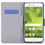 Tasche Wallet Premium Muster 22 für Huawei P10 Plus Hülle Case Cover Etui Bild 2