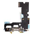 Dock Connector Mikrofon Flexkabel für Apple iPhone 7 4.7 Ladebuchse Weis