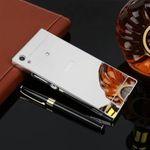 Alu Bumper 2 teilig mit Abdeckung für Sony Xperia XA1 G3112 G3121