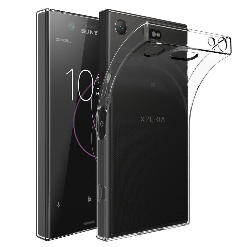release date: 1e451 3270b Silikoncase TPU transparent to Sony Xperia XZ1 G8341 G8342 cover case bag