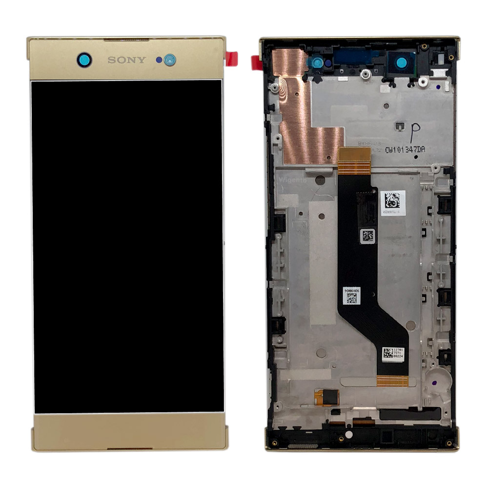 Sony Display LCD Complete with Frame for Xperia XA1 Ultra G3212 Gold ...