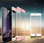 Premium 0,3 mm gebogenes H9 Hartglas Schwarz Folie für Apple iPhone 8 4.7 Neu Bild 3