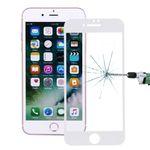Premium 0,3 mm gebogenes H9 Hartglas Weiß Folie für Apple iPhone 8 4.7 Neu