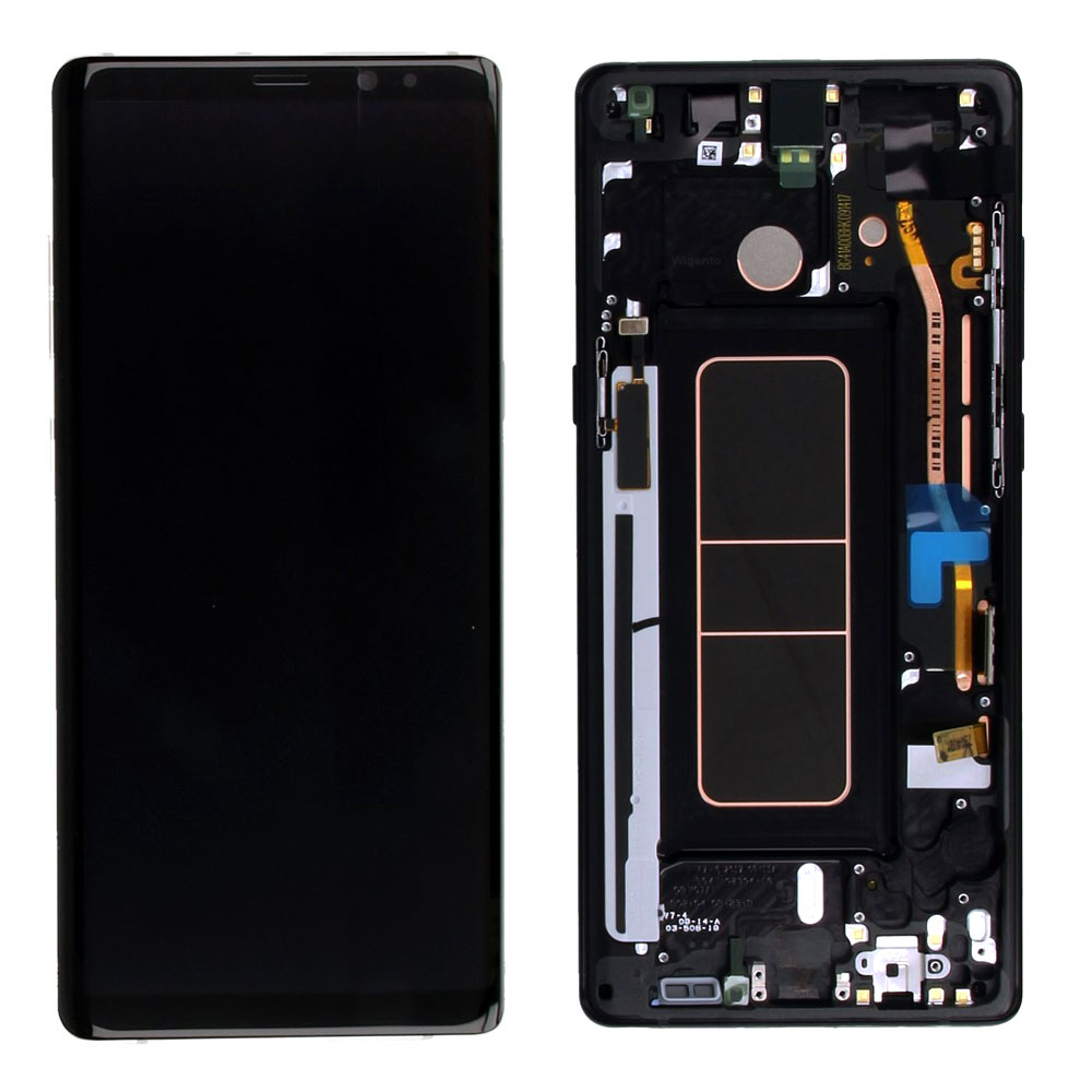 Gh97 21065a Lcd N950 N950f Samsung⚐galaxy⚐note 8 Display For Black Complete Set