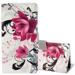 Tasche Wallet Motiv 25 für Sony Xperia XZ1 Compact Hülle Case Etui Cover Schutz