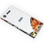 Alu Bumper 2 teilig mit Abdeckung für Sony Xperia XZ1 Compact