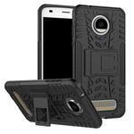 Hybrid Case 2teilig Gripp Silikonhülle für Motorola Moto Z2 Play