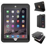 Hybrid Outdoor Schock Case für Apple iPad Tasche Hülle Etui Mehrteilig Schutzhülle Cover  Bild 5