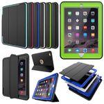 Mehrteilige Hybrid Outdoor Schutzhülle Case Grün für Apple iPad Pro 9.7 Tasche Wake UP 3folt Bild 4