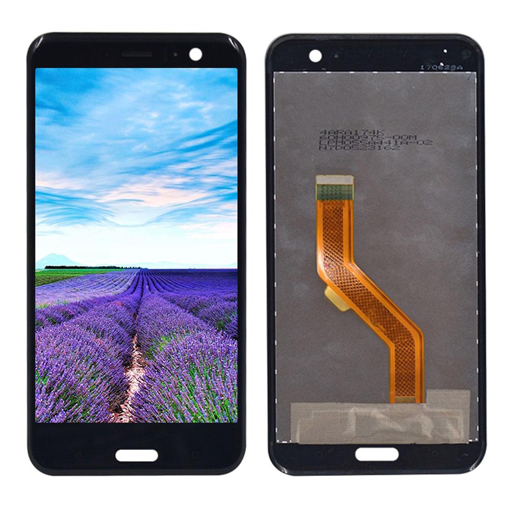 Ersatz Display LCD Komplett Einheit für HTC U11 Reparatur Schwarz ...