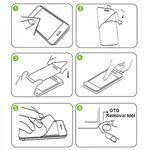 2x Premium 0,4 mm Hartglas Schock Folie für Lenovo Tab 4 Plus Schutz Glas Neu Bild 3