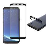Hybrid TPU Premium gebogene Panzerfolie Folie Schwarz für Samsung Galaxy S9 G960F