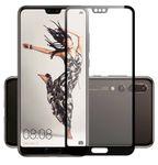 4D Premium 0,3 mm gebogenes H9 Hartglas Folie für Huawei P20 Neu