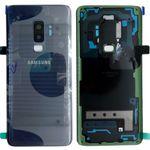 Samsung GH82-15652D Akkudeckel Deckel für Galaxy S9 Plus G965F + Klebepad Coral Blue Blau Neu