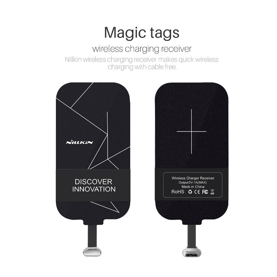 nillkin universal qi typ c ladepad pad wireless charging induktives laden typ c ebay. Black Bedroom Furniture Sets. Home Design Ideas
