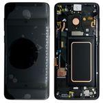 Samsung Display LCD Komplettset GH97-21696A Schwarz / Midnight Black für Galaxy S9 G960F / S9 Duos G960FD