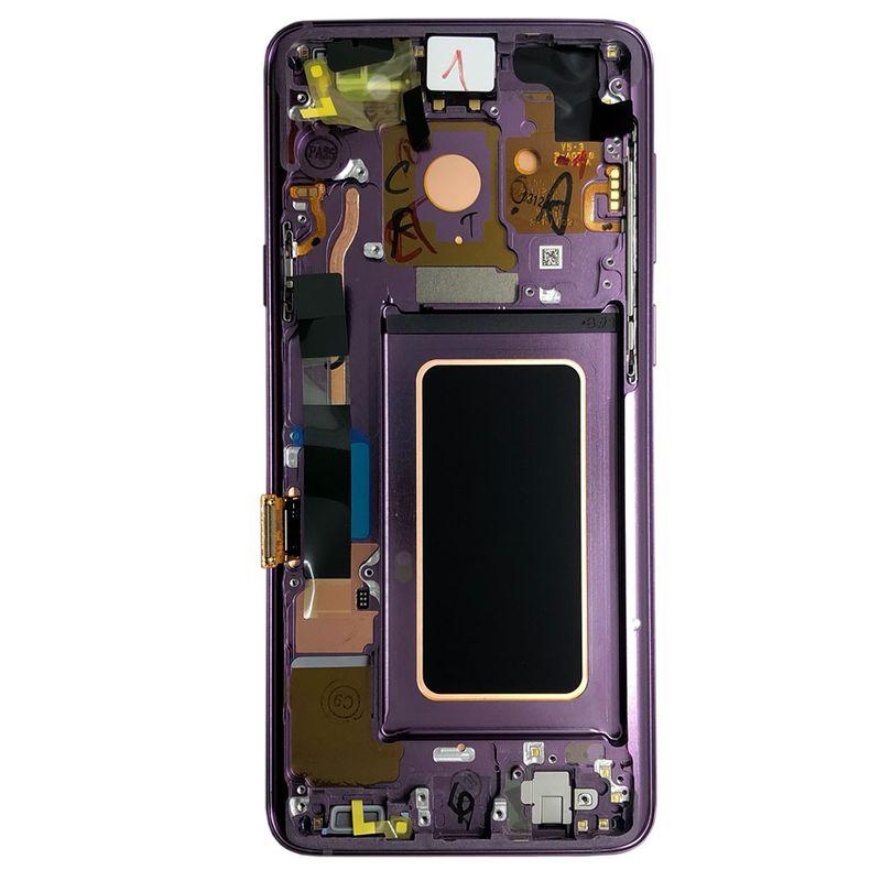 samsung display lcd komplettset gh97 21691b lila lilac purple f r galaxy s9 plus g965f s9. Black Bedroom Furniture Sets. Home Design Ideas