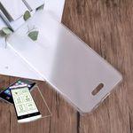 Silikoncase Transparent + 0,3 H9 Hartglas für Wiko View Lite Tasche Hülle Neu
