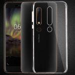 Silikoncase Transparent 0,3 mm Ultradünn Hülle für Nokia 6 2018 Tasche Cover Neu