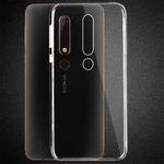 Silikoncase Transparent 0,3 mm Ultradünn Hülle für Nokia 6 2018 Tasche Cover Neu Bild 2