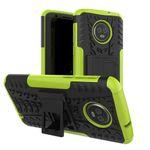 Hybrid Case 2teilig Gripp Silikonhülle für Motorola Moto G6 Plus