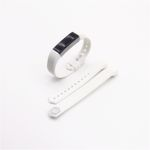 Für Fitbit Alta HR Kunststoff / Silikon Armband für Männer / Größe L Weiß Uhr