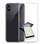 Für Xiaomi Redmi Note 5 Silikoncase TPU Transparent + 0,3 H9 Glas Tasche Hülle Schutz Cover
