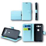 Für Wiko Lenny 5 Tasche Wallet Premium Blau Schutz Hülle Case Cover Etui Neu Zubehör
