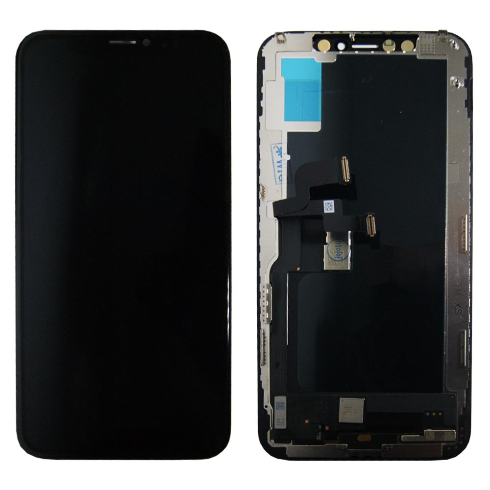 display lcd einheit touch panel f r apple iphone xs 5 8. Black Bedroom Furniture Sets. Home Design Ideas