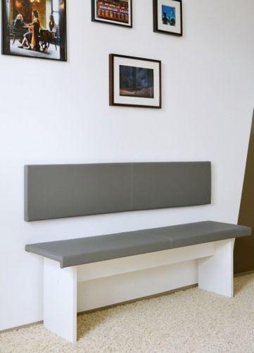 xxl wandkissen 150cm montageset kunstleder scheuertouren made in germany ebay. Black Bedroom Furniture Sets. Home Design Ideas